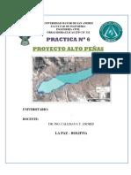 Proyecto Alto Peñas