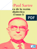 Jean Paul Sartre - Critica de La Razon Dialectica Tomo I