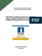 Informe Especial de Incidentes de Bocas