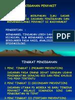 Pencegahan Penyakit