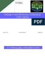 Chương 4Liên kết hóa học và cấu tạo pt(tt)