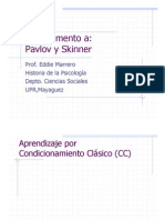 Microsoft Power Point Complemento Pavlov Skinner 1