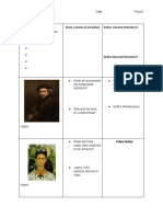 Guided Notes (Reflective Self Portrait)