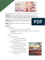 UCP Roadshow Campaign Analysis
