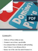 Case Study DOMINO'S PIZZA