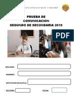 Entrada Edagpe Com 2019 2º Secundaria