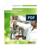 Plan Academico Proyecto Titulo Tecnico