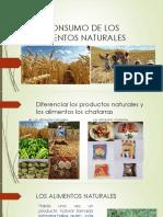 Consumo de Alimentos Naturales