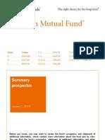 American Mutual Fund - Sum