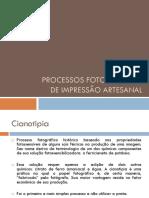 Processos de impressão artesanal