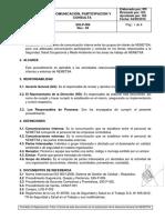 SIG-P-006 Comunicación, Participación y Consulta_Rev.03
