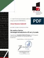 Constancia_seminario_estudiante César Romero Gabriell