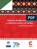 CEPAL-Mujeres Afrodescendientes en América Latina y El Caribe (Deudas de Igualdad)