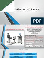 Evaluación Isocinética