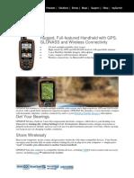 GPS Garmin 64s New