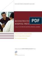 Reconstructing Hosptial Pricing Systems