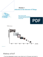 Module 1 - Introduction to Internet of Things