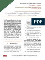 AStudyOnFinancialPerformanceOfRelianceIndustriesLimited(665-669)