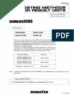 Pc200-6 Main Pump Dimension (94999 Up) Sebh537661_10650