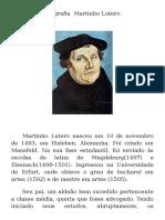 Biografia  Martinho Lutero.doc