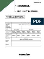 Pc200-8 Main Pump Test Method