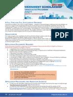 BEIHANG Postgraduate Program in 2019