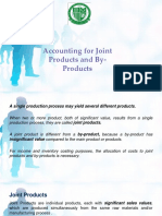 11 Accounting for Joint Products and by Products