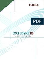 Fujitec Exceldyne RS Catalog