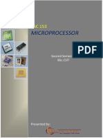 Microprocessor Notes