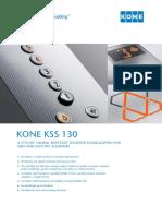 KONE KSS 130 Signalization