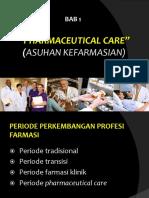 Pharmaceutical Care 1