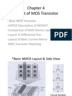 C-4 Layout of MOS Transistor