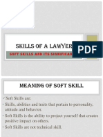 Qualities of a Good Lawyer