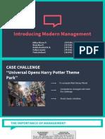 introducing modern management