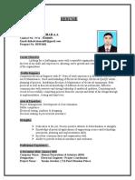 Muhammed Shihab CV