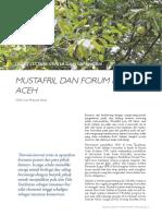 USAID LESTARI-Cerita Dari Lapangan-Mustafril Dan Forum Pala Aceh