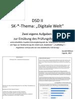Schriftliche Komm. Digitale Welt