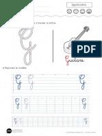 Apprendre a Ecrire La Lettre g Majuscule Dft2