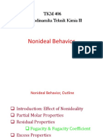 3. Nonideal Behavior