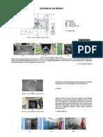 Laporan Survey utilitas air bersih dan air hujan