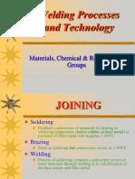 Welding Process & Technology