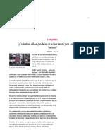 La República. Facturas Falsas. Lima, 2019