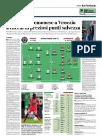 La Provincia Di Cremona 17-03-2019 - Serie B