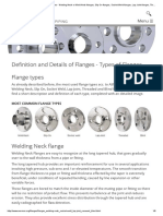 Flanges General - Flange Types - Welding Neck or Weld Neck Flanges, Slip on Flanges, Socket Weld Flanges, Lap Joint Flanges, Threaded Flanges and Blind Flanges
