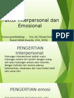 Pengertian interpersonal