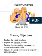JSA - Job Safety Analysis