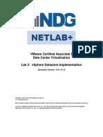 Vmware Vca Dcv Lab 02