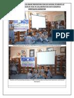 Glimpses of Workshops on DRUG ABUSE PREVENTION for KVS School's