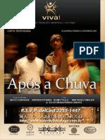 Apos A Chuva, de Silvio Guindane  | Teatro Solar Botafogo Rio