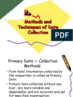 6-Data — Collection Methodology